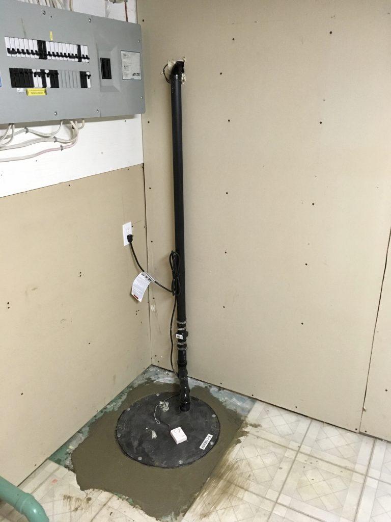 Sump-Pump System Installation in Toronto