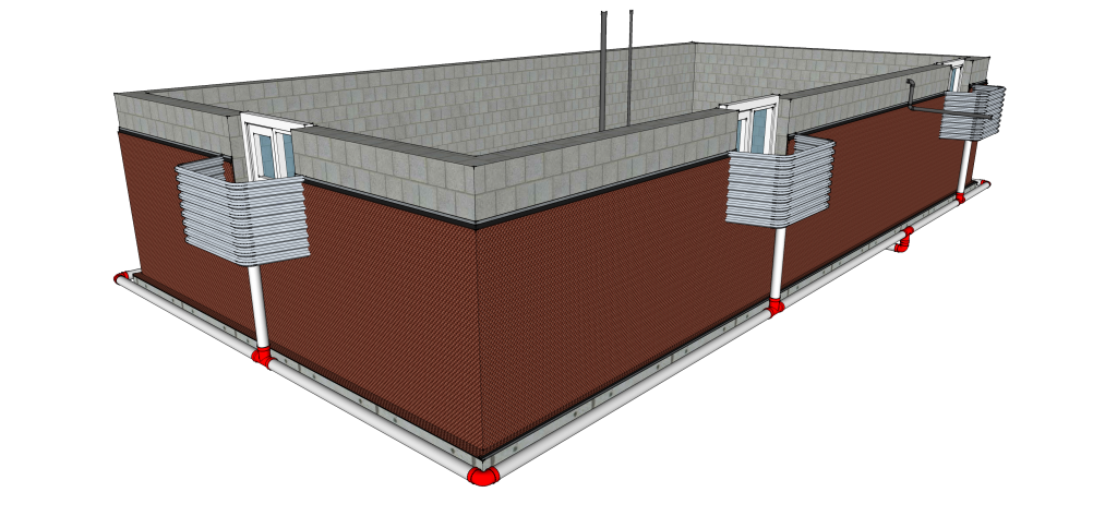 Exterior Basement Waterproofing Toronto Step 7
