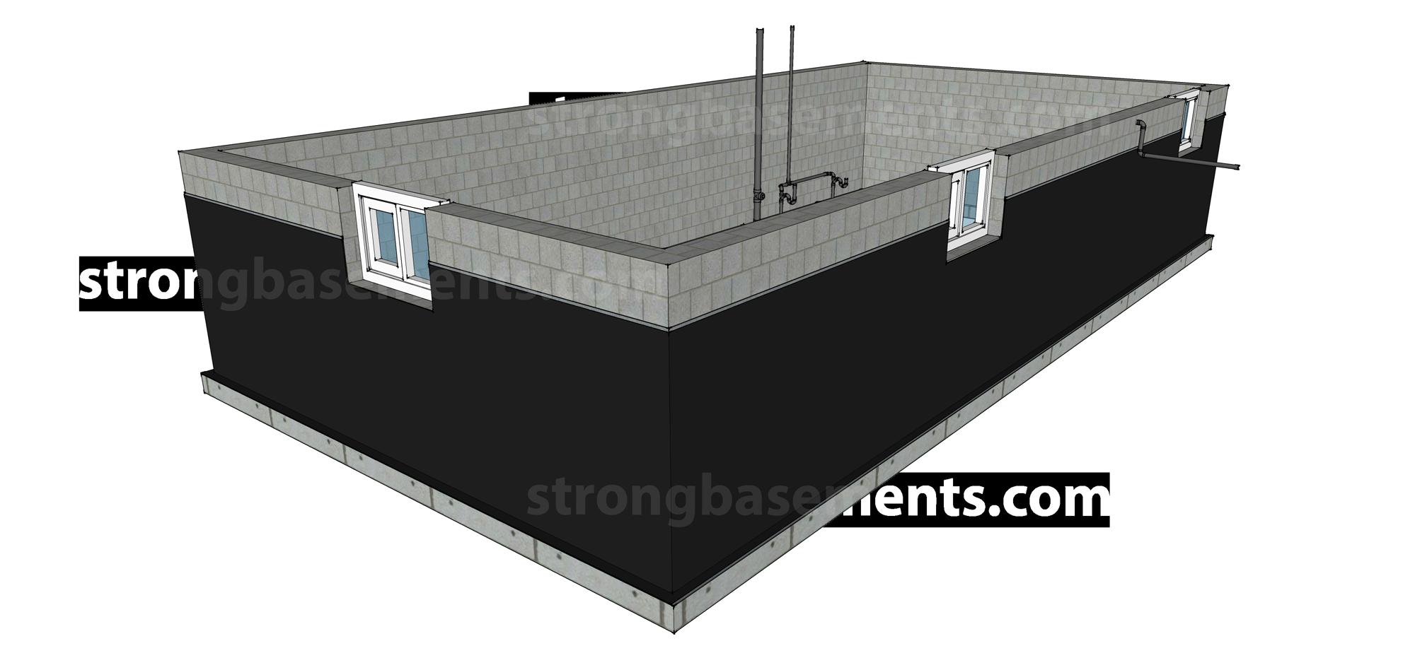 Exterior-Basement-Waterproofing-Toronto-Step-4